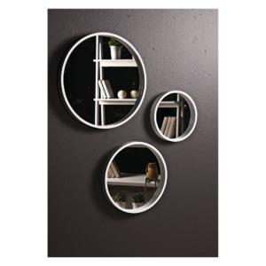 Espejo Decorativo Luna Blanco
