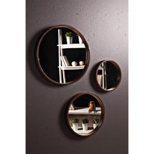Espejo Decorativo Luna Marrón